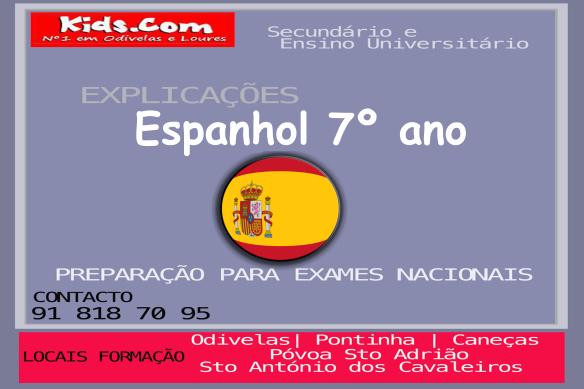 Espanhol 7º ano web